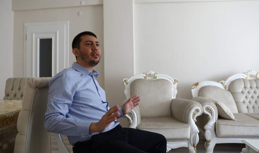 Former Turkish-American NASA scientist Serkan Golge speaks with AFP at his parents' home in Hatay, on June 7, 2019, nine days after being released on probation from a nearly 3 years-long detention, as he was accused of links with the failed coup against Turkish President in 2016. - A former Turkish-American NASA scientist, detained in Turkey for nearly three years until his release last week, told AFP in an interview that he would do everything he could to clear his name. Golge was accused of having ties with Turkish preacher Fethullah Gulen, who is in exile in the US and whose extradition Ankara has requested over his alleged role in the failed July 2016 coup against President Recep Tayyip Erdogan. (Photo by Adem ALTAN / AFP)