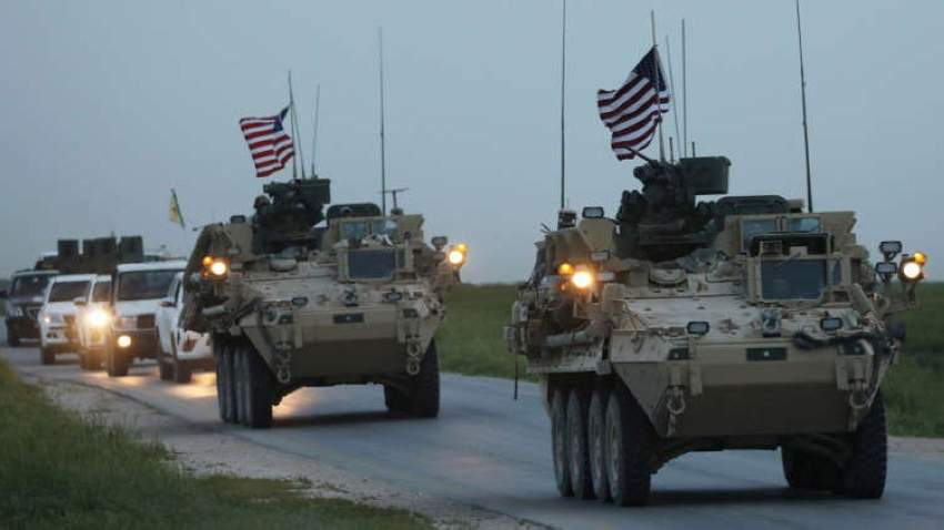 قوات امريكية في غرب العراق