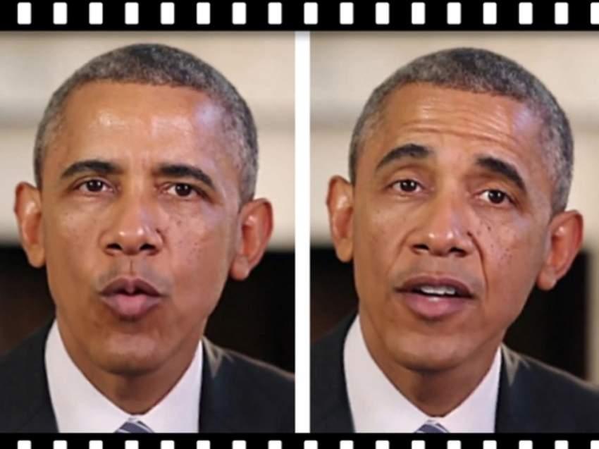 فيديوهات مزيفة لأوباما