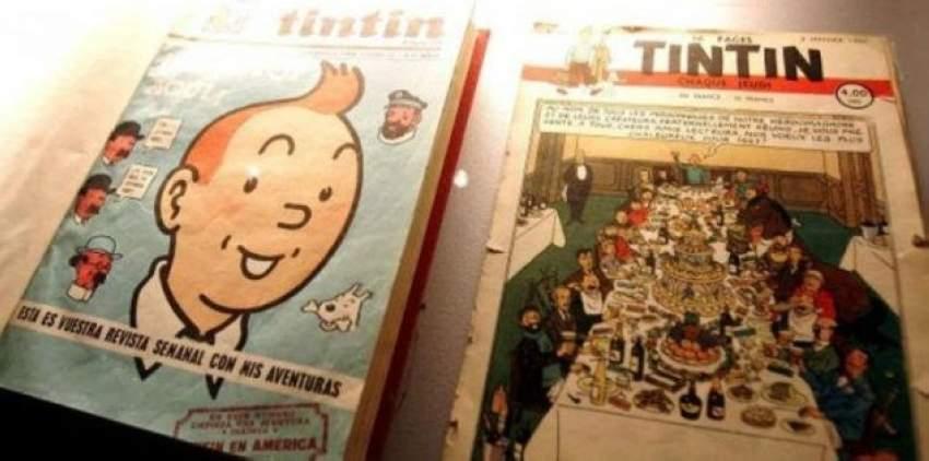 أول غلاف لمغامرات «تان تان» يباع بسعر 1.1 مليون دولار