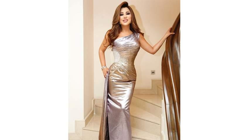 في حفلها في بيروت اختارت نجوى كرم فستان من تصميم رامي قاضي