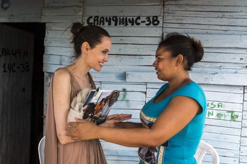 حثت أنجلينا جولي المجتمع الدولي على تقديم المزيد من الدعم لثلاث دول بأمريكا الجنوبية تستقبل أكبر عدد من المهاجرين القادمين من فنزويلا