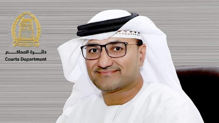 مدير عام دائرة محاكم رأس الخيمة إبراهيم أحمد الزعابي