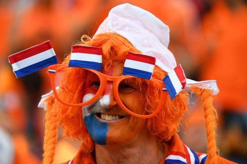 أحد مشجعي هولندا