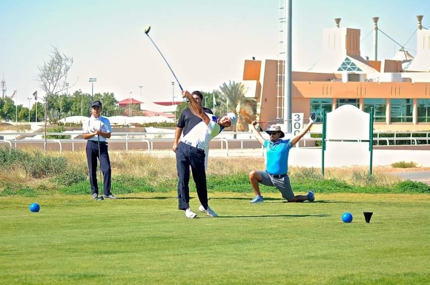 من تدريبات الغولف. (الرؤية)