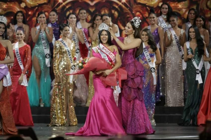 بالصور.. ملكة جمال الفلبين من أصول عربية