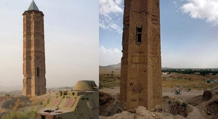 انهيار قلعة أفغانية تعود إلى 2000 عام