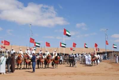 الموروث الثقافي الإماراتي محط أنظار زوار «موسم طانطان»