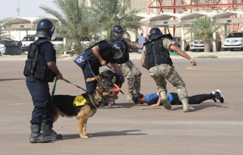 خلال برامج إدارة التفتيش الأمني بشرطة أبوظبي لرفع كفاءة المتدربين. (الرؤية)