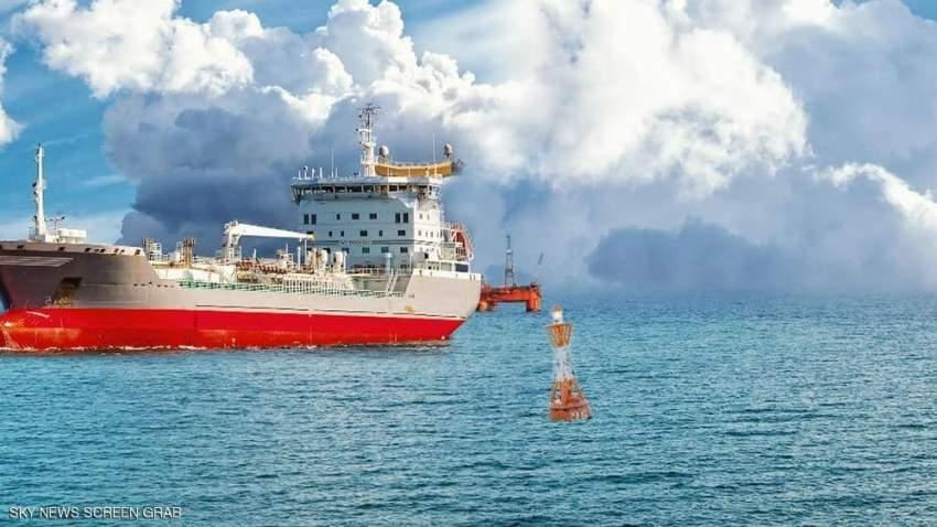 سفينة تركية تنقب عن الغاز في مياه قبرص.