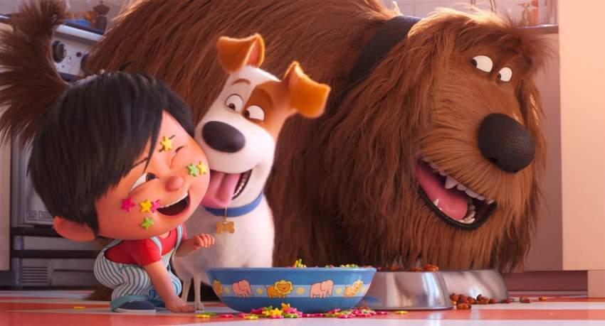لقطة من فيلم «الحياة السرية للحيوانات الأليفة 2». (الرؤية)