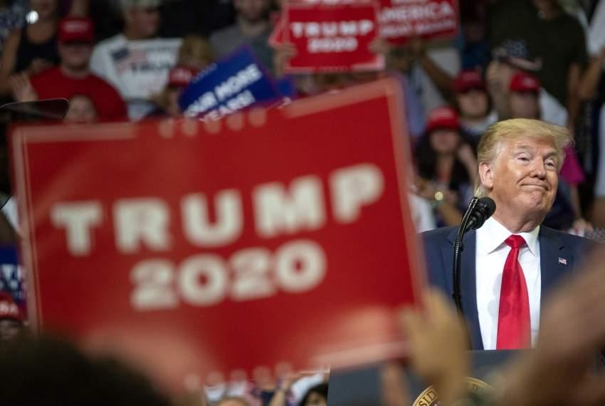 ترامب يطلق حملته لرئاسيات 2020 .. ويحذر من «مدمّري» البلاد