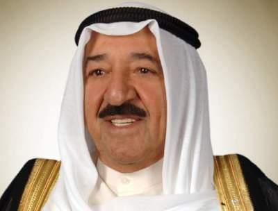 أمير الكويت يصل إلى بغداد في زيارة رسمية