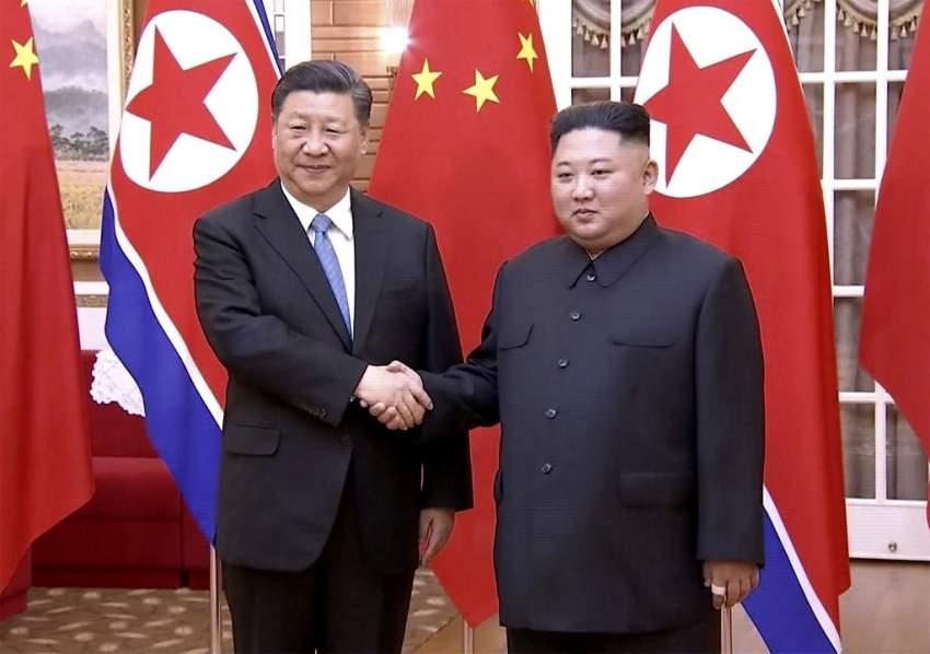 الرئيس الصيني يغادر كوريا الشمالية بعد زيارة استمرت يومين