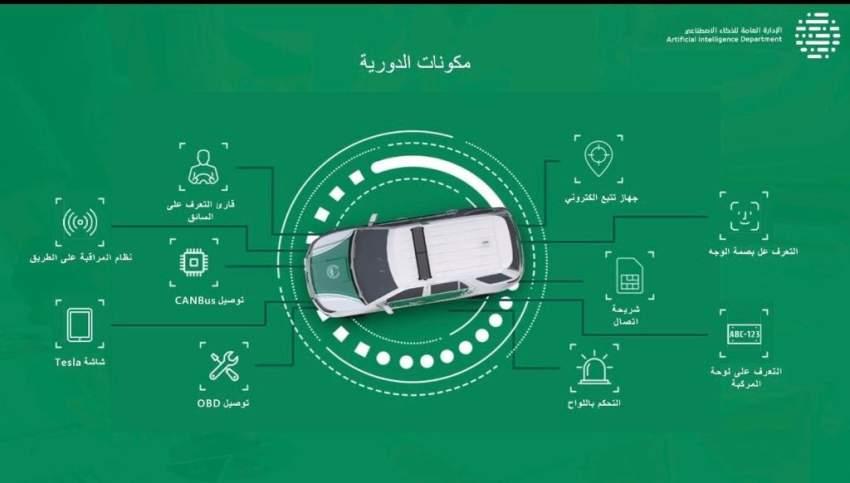 شرطة دبي تجهز 2000 مركبة ذكية العام الجاري