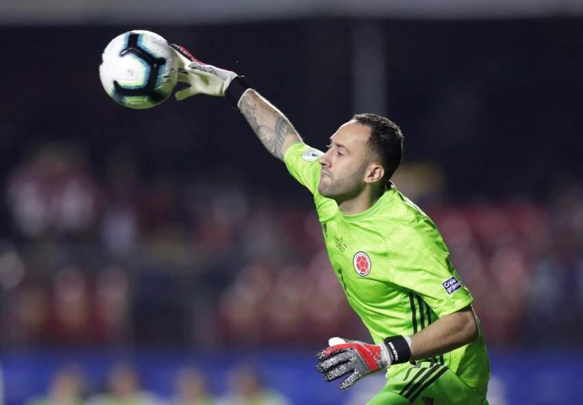 Soccer Football - Copa America Brazil 2019 - Group B - Colombia v Qatar - Morumbi Stadium, Sao Paulo, Brazil - June 19, 2019 Colombia's David Ospina in action REUTERS/Ueslei Marcelino