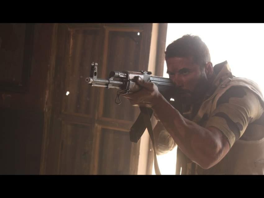 أحمد عز في لقطة من فيلم «الممر».