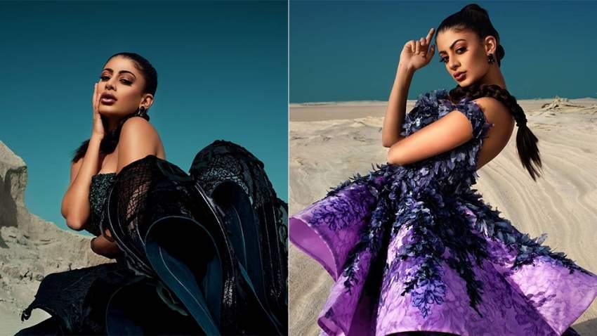 ميرهان تشارك في عرض أزياء علامات تجارية في دبي