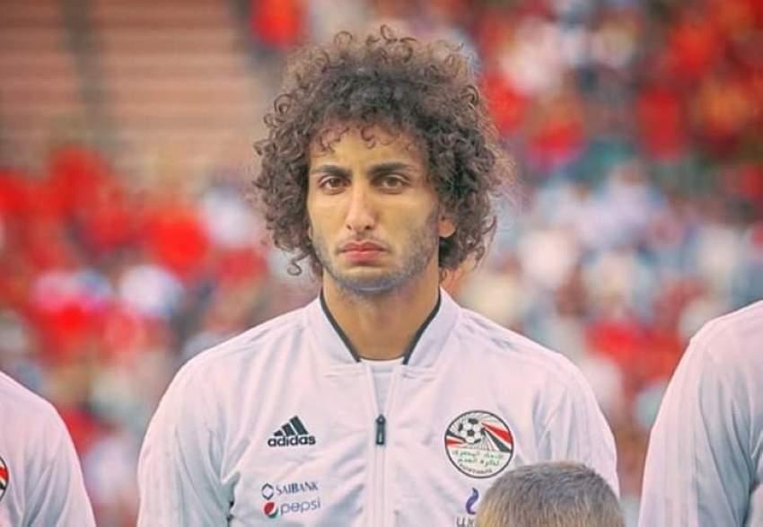 عمرو وردة يعود لمعسكر المنتخب المصري
