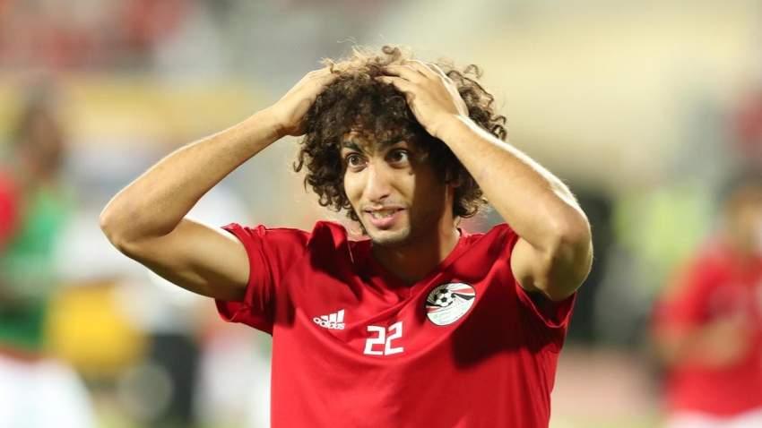 عمرو وردة - منتخب مصر