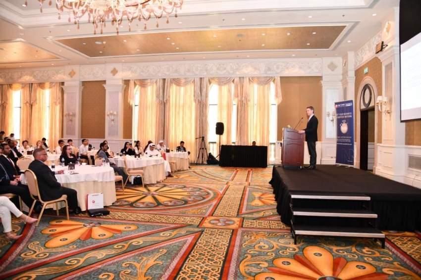 خلال لقاء الاعمال الذي نظم في ابو ظبي