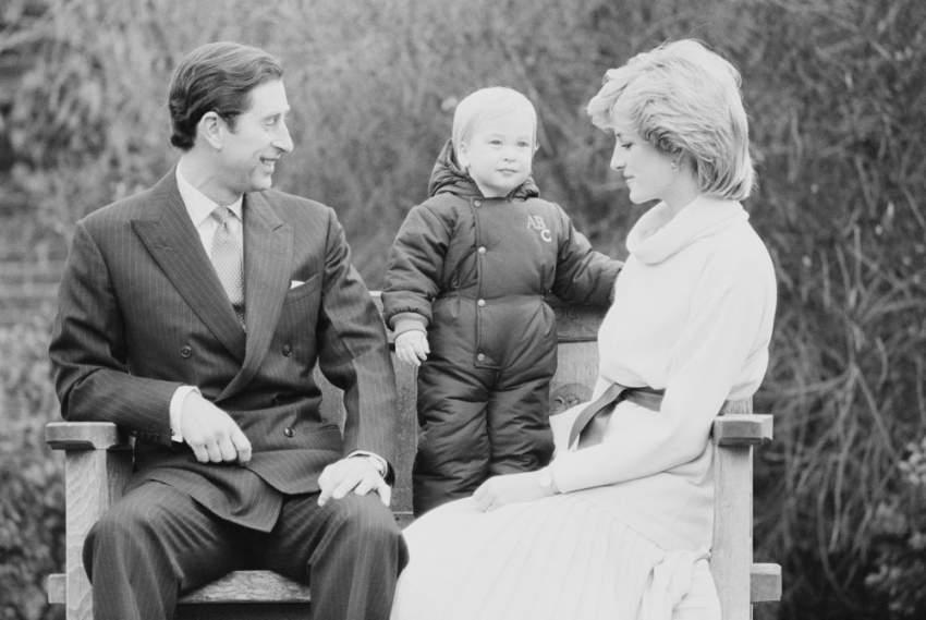 رُزقت بطفلها الأول ويليام عام 1983