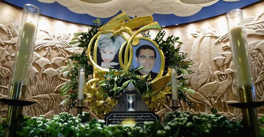 ارتبطت الأميرة ديانا برجل الأعمال دودي ابن الملياردير المصري محمد الفايد بعلاقة غرامية، حيث توفيا إثر حادث مأساوي في باريس عام 1997