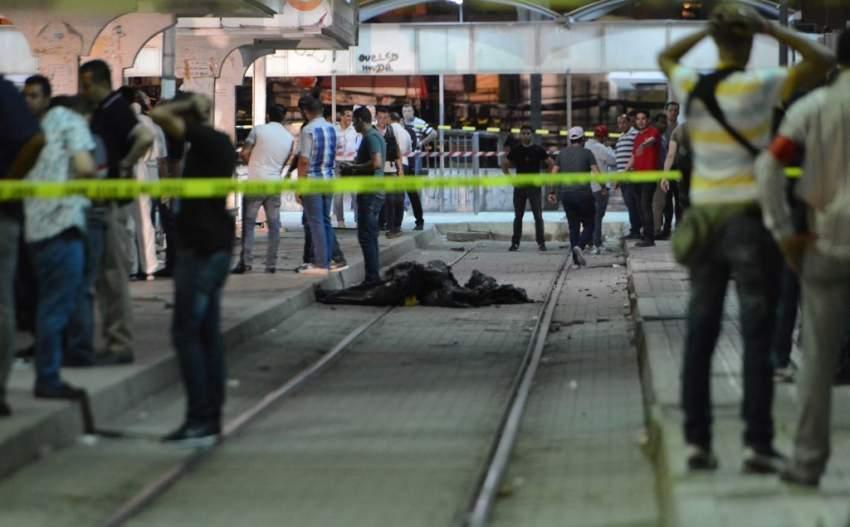 إرهابي مطلوب يفجر نفسه في العاصمة التونسية