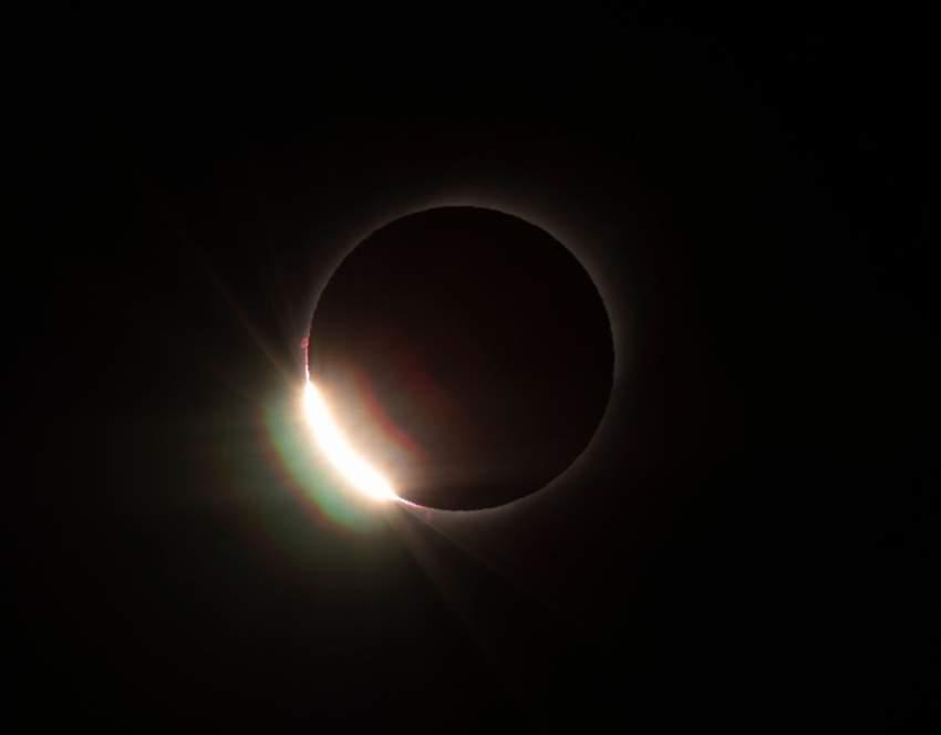 لم يحدث أن شهدت المنطقة كسوفا للشمس منذ عام 1592 حسب جمعية الفلك التشيلية. ومن المتوقع أن تحدث الظاهرة القادمة عام 2165