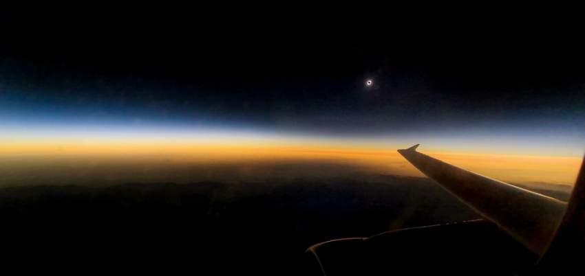 ظاهرة كسوف الشمس لم تحدث منذ مدة في تشيلي