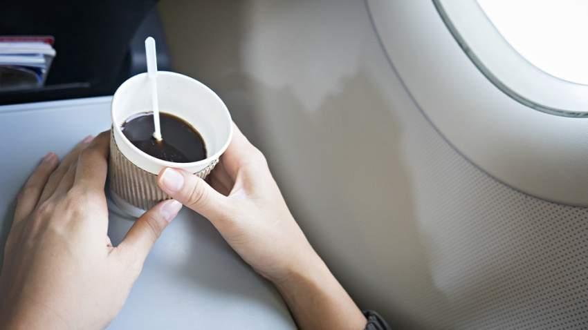 يجهل كثيرون أن القهوة والشاي معدة من مياه الطائرة