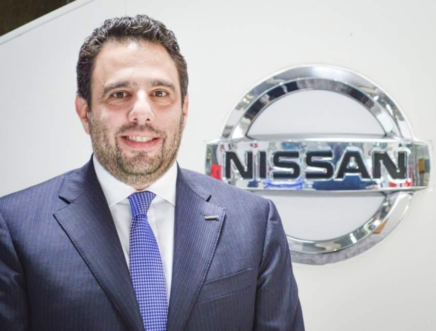 تيري صباغ - المدير التنفيذي لنيسان الشرق الأوسط