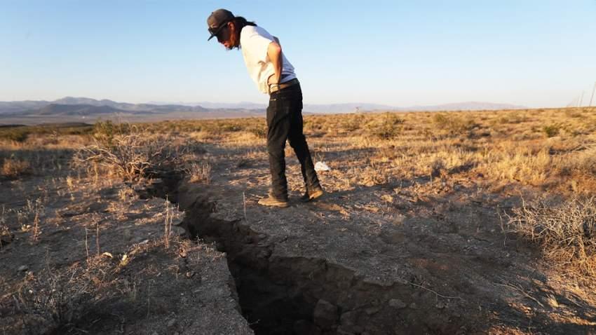 الزلزال ضرب صحراء كاليفورنيا