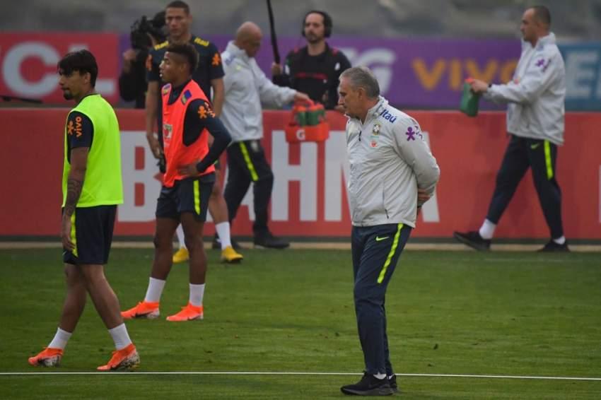 مدرب منتخب البرازيل (تيتي)