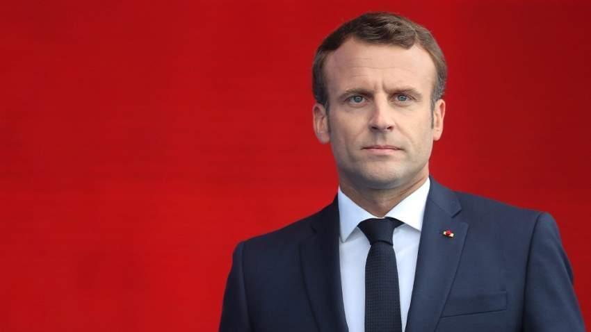 الرئيس الفرنسي يعبر عن قلقه من أفعال إيران ويحذر روحاني