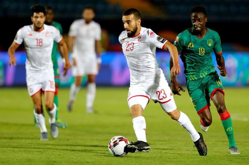 من مباراة تونس وموريتانيا أخيراً. (أ ف ب)
