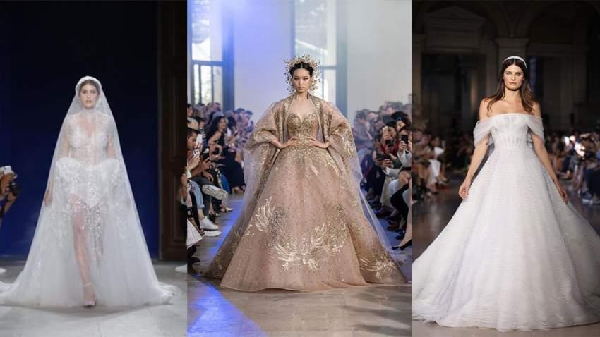 فساتين زفاف من أسبوع الأزياء الراقية في باريس