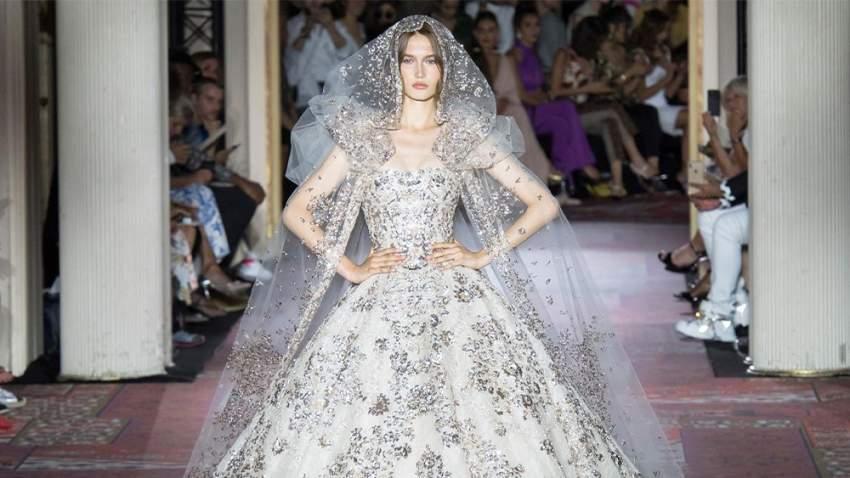 فستان زفاف زهير مراد