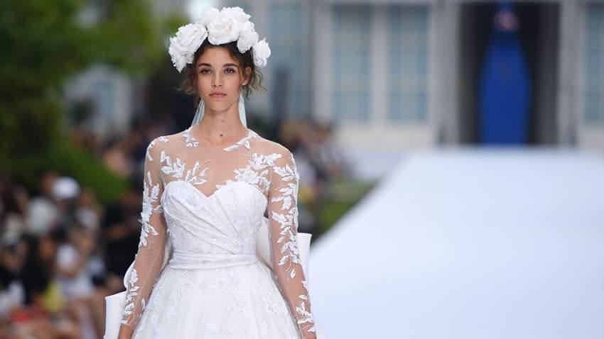 فستان زفاف رالف أند روسو