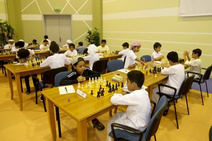 من منافسات الشطرنج.