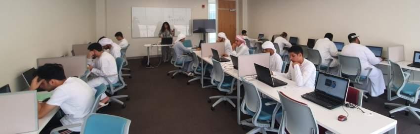 خلال تنظيم اختبارات «الأمسات» في دبي. (الرؤية)