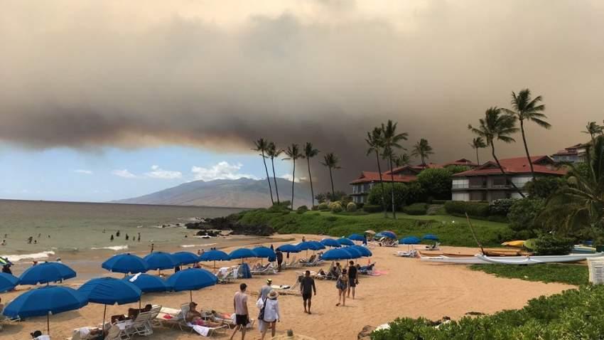 إعلان حالة الطوارئ بسبب حرائق الغابات