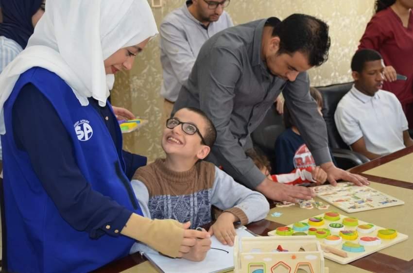 أنشطة ترفيهية للأطفال من ذوي الهمم