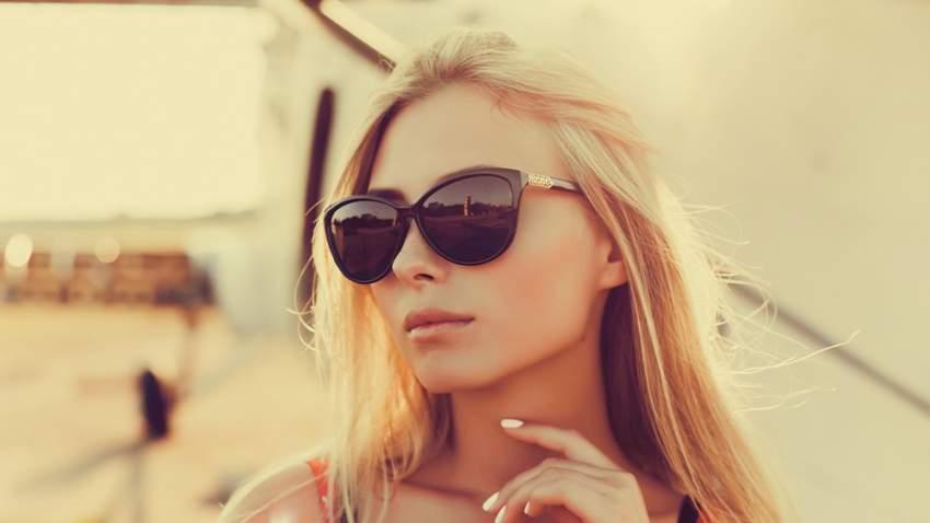 النظارات الشمسية الرخيصة عادةً ما تكون رديئة الجودة أو معيبة