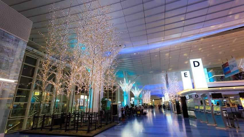 مطار هانيدا في اليابان