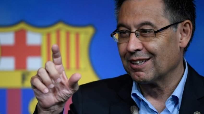 رئيس نادي برشلونة جوزيب ماريا بارتوميو