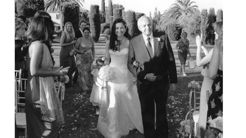 ريا في يوم زفافها
