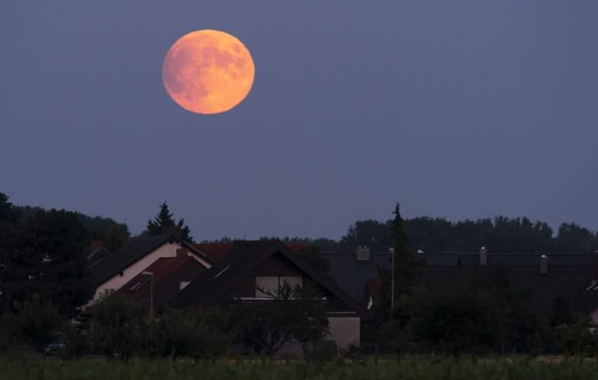 خسوف القمر في ألمانيا