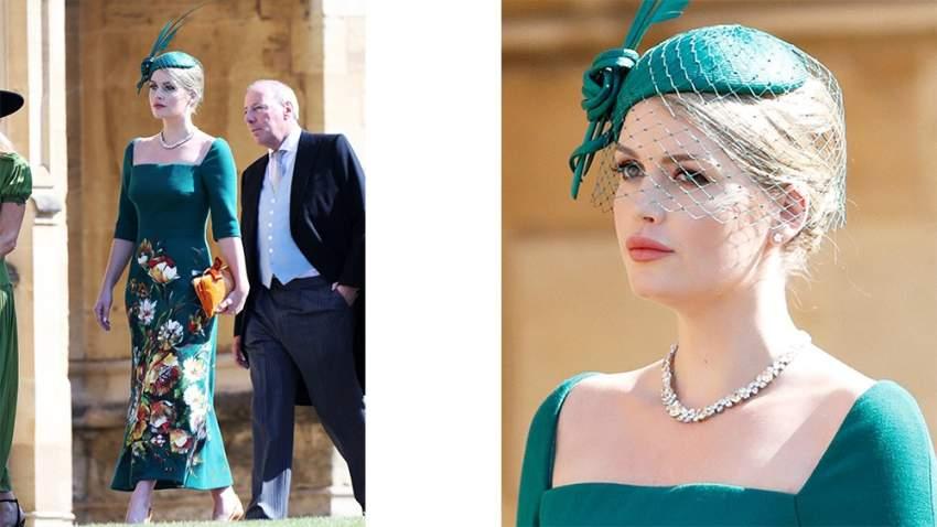 اختارت كيتي في حفل زفاف هاري وميغان فستان من دولتشي أند غابانا