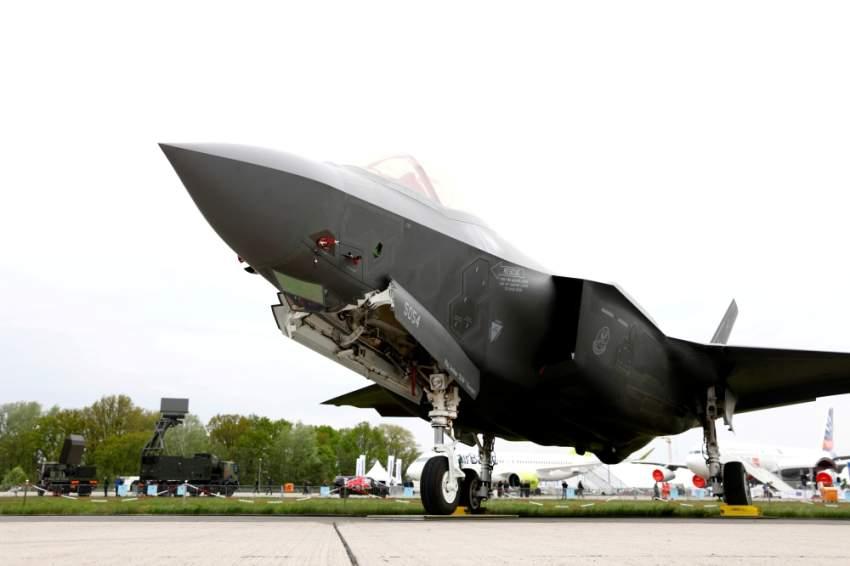 طائرة F-35 . (رويترز)